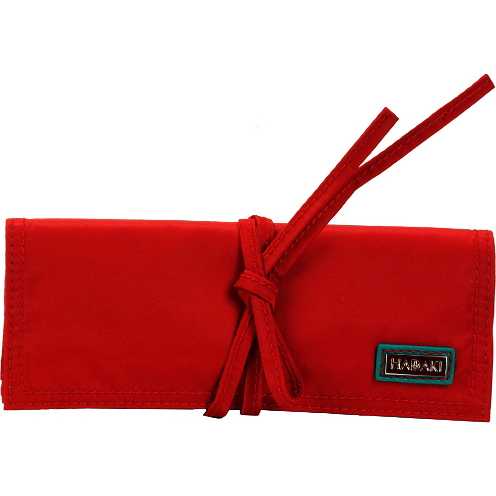Hadaki Nylon Jewelry Roll Tango Red - Hadaki Travel Organizers - Travel Accessories, Travel Organizers