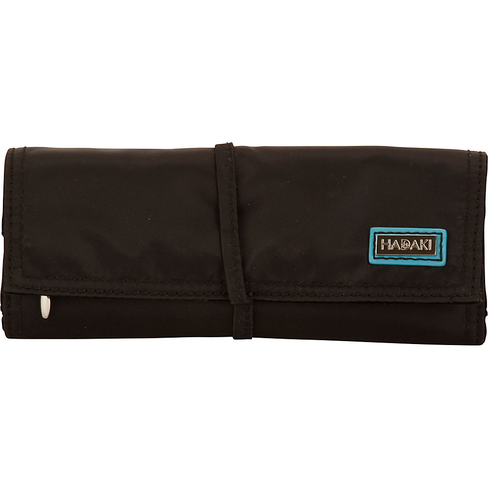 Hadaki Nylon Jewelry Roll Black - Hadaki Travel Organizers - Travel Accessories, Travel Organizers