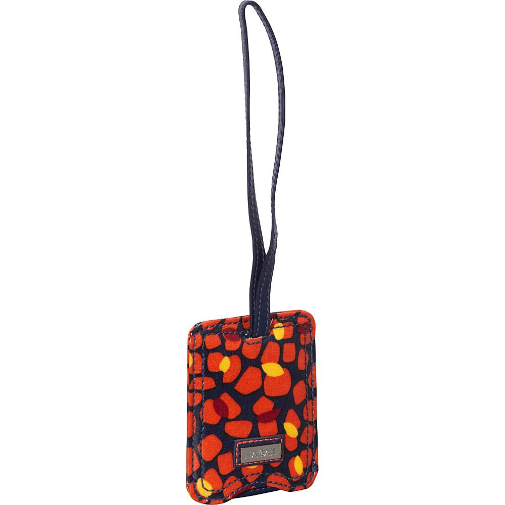 Hadaki Coated Luggage Tag Arabesque Pebbles - Hadaki Luggage Accessories - Travel Accessories, Luggage Accessories