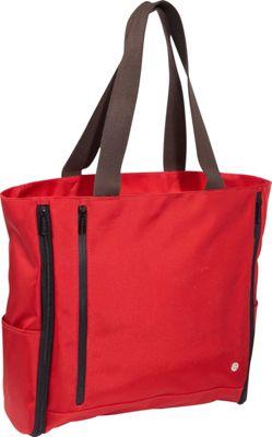TOKEN Neptune Expandable Tote Red - TOKEN Fabric Handbags