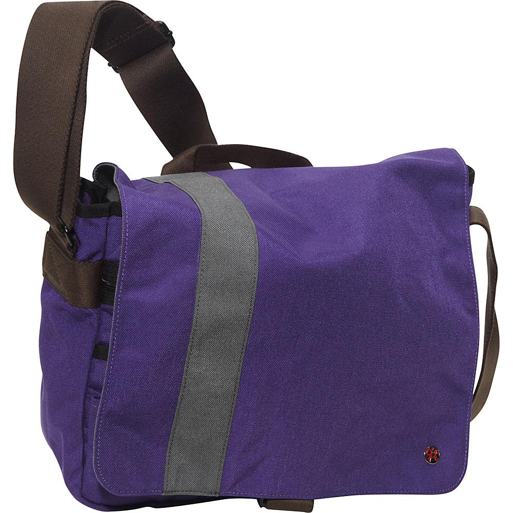 TOKEN Astor Shoulder Bag (M) W Purple/Grey - TOKEN Messenger Bags