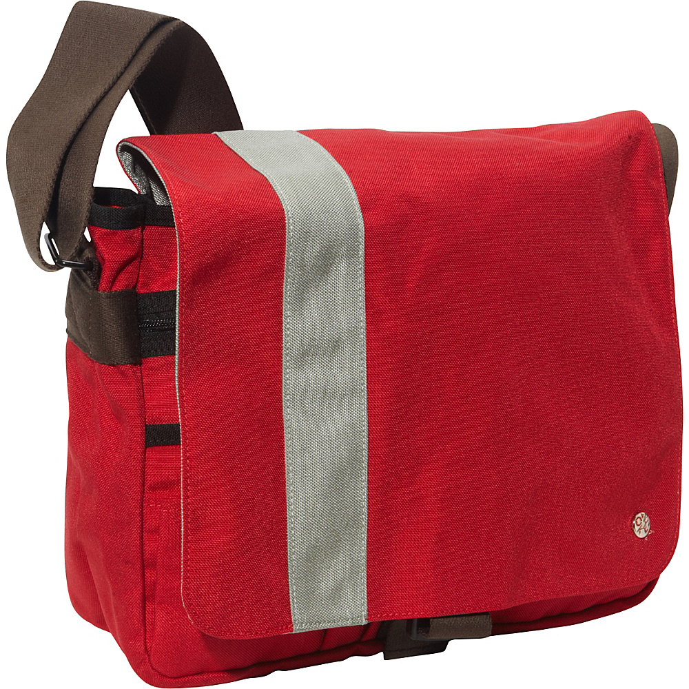 TOKEN Astor Shoulder Bag (M) W Red/Silver - TOKEN Messenger Bags