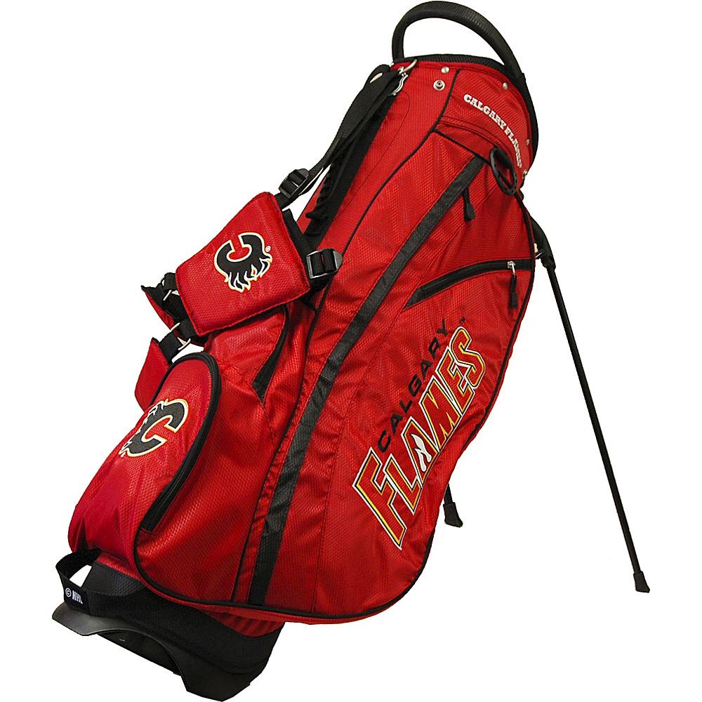 Team Golf USA NHL Calgary Flames Fairway Stand Bag Red - Team Golf USA Golf Bags