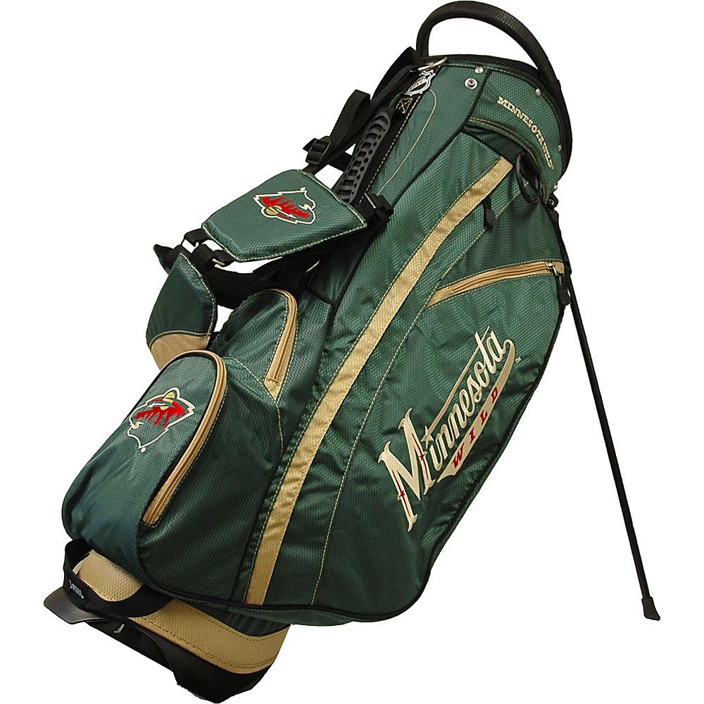Team Golf USA NHL Minnesota Wild Fairway Stand Bag Green - Team Golf USA Golf Bags