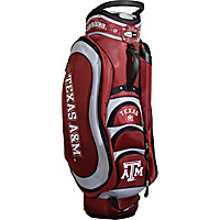 Team Golf NCAA Texas AM University Aggies Medalist Cart Bag Maroon - Team Golf Golf Bags