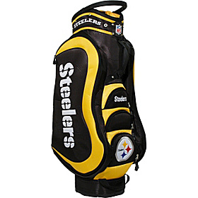 NFL Pittsburgh Steelers Medalist Cart Bag Black