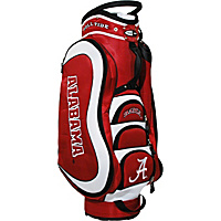Team Golf NCAA University of Alabama Crimson Tide Medalist Cart Bag Red - Team Golf Golf Bags