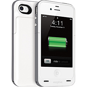 Juice Pack Plus for iPhone 4 / 4S Grey