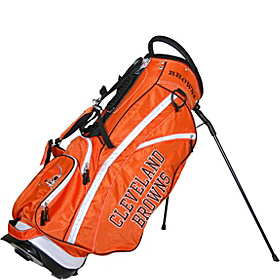 NFL Cleveland Browns Fairway Stand Bag Orange