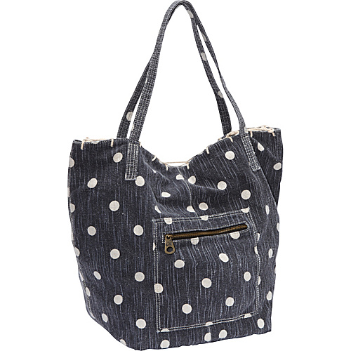 Roxy Heartland Shoulder Bag Blue Black - Roxy Fabric Handbags