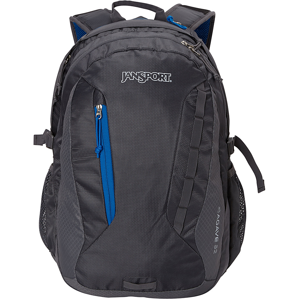 JanSport Agave Laptop Backpack Forge Grey - JanSport Laptop Backpacks - Backpacks, Laptop Backpacks