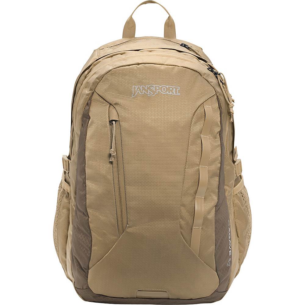 JanSport Agave Laptop Backpack Bozeman Brown / Field Tan - JanSport Business & Laptop Backpacks