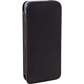 Leather iPhone 5 Case Black