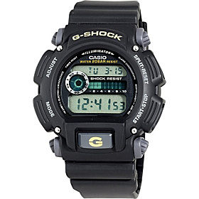 Men's G-Shock Multi-Functional Digital Sport Watch Black