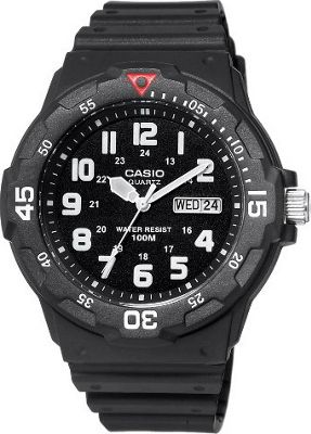 Casio Casio Men's Sport Analog Dive Watch Black - Casio Watches