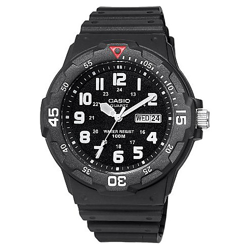 Casio Men's Sport Analog Dive Watch Black - Casio Watches