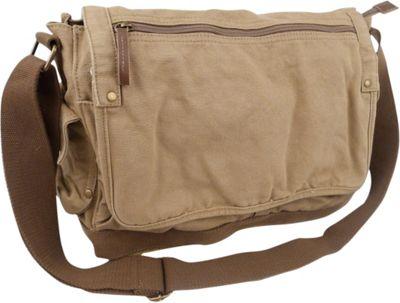 Cotton Canvas Messenger Shoulder Bag 49