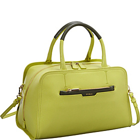 Diamante Medium Bauletto Saffiano Lime/Olive