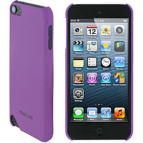 Ultra Slim Matte Shell Case for iPod Touch 5 Purple