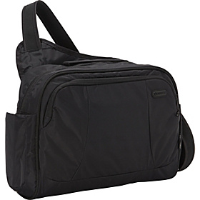 MetroSafe 275 GII Anti-Theft Tablet and Laptop Bag Black