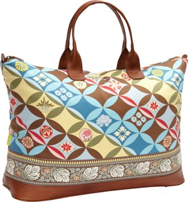 Amy Butler for Kalencom Meris 27 inch Duffel Bag with Ribbon Kimono - Amy Butler for Kalencom Luggage Totes and Satchels