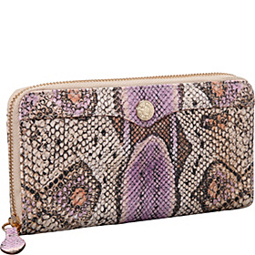 Luma Large Zip Wallet Multi Purple