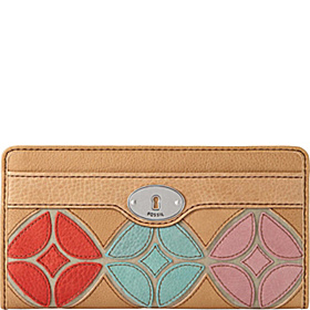 Marlow Patchwork Zip Clutch Patchwork