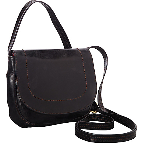 Hobo Sierra Crossbody Black - Hobo Leather Handbags
