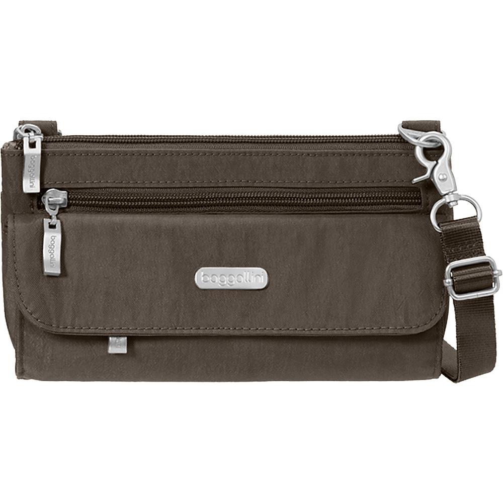 baggallini Plaza Mini Crossbody Portobello - baggallini Fabric Handbags - Handbags, Fabric Handbags