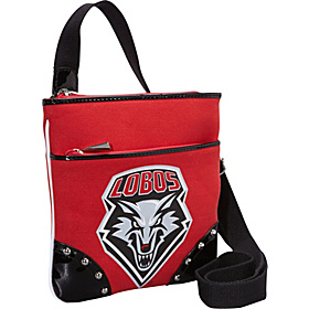 University of New Mexico Lobos Cross Body Bag Red