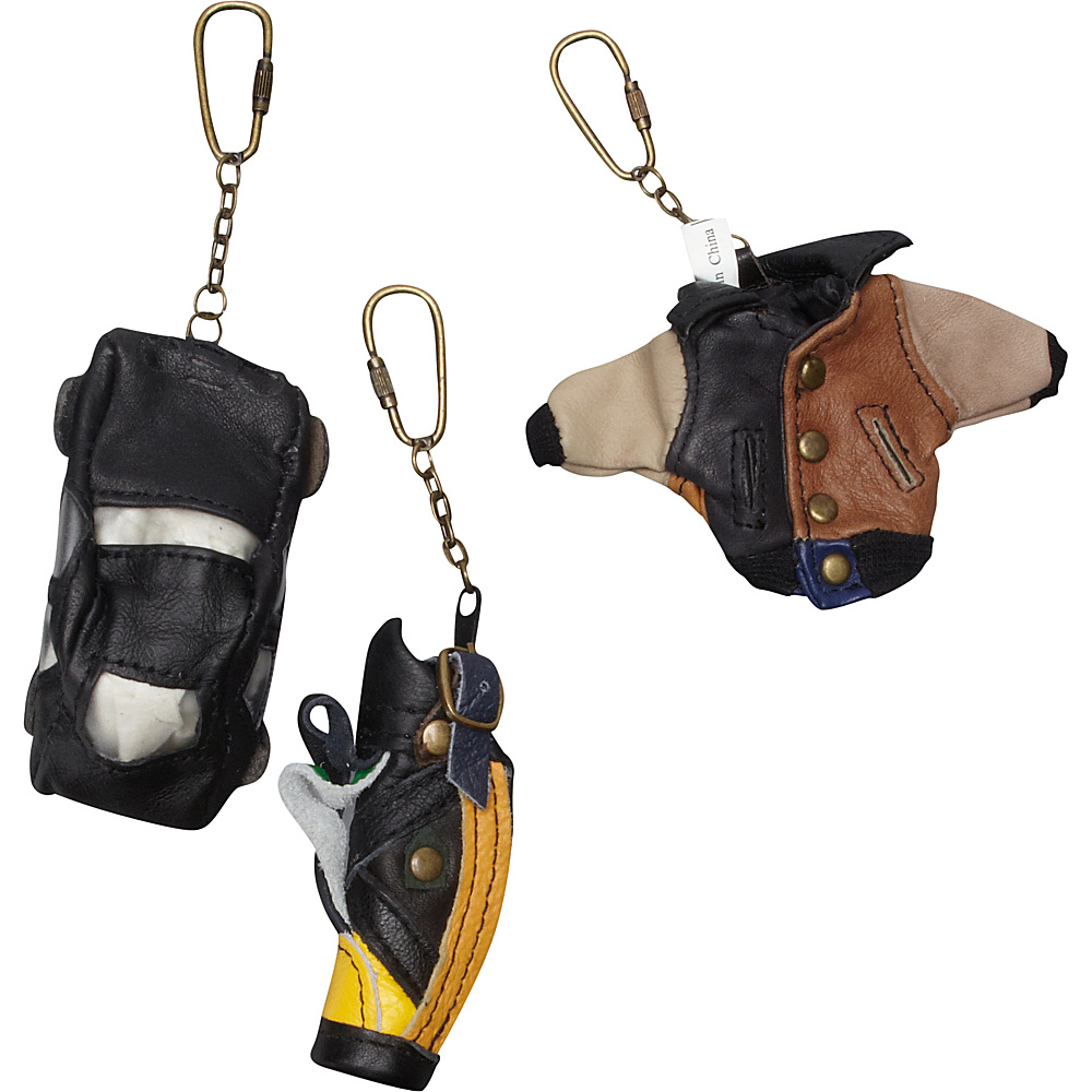 AmeriLeather Leather Key Chains (36 pc. Pack) Assorted - AmeriLeather Business Accessories - Work Bags & Briefcases, Business Accessories