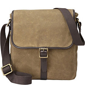 Estate N/S Canvas City Bag Khaki