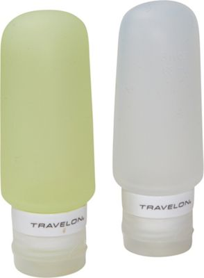Travelon Smart Tubes Set of 2 3oz. Green/Clear - Travelon Travel Organizers