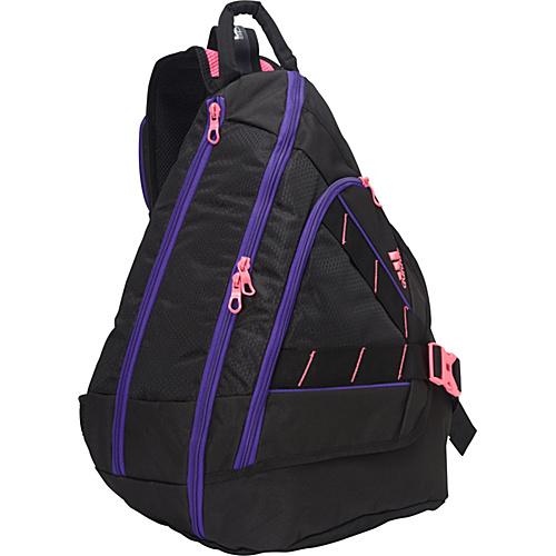 adidas Rydell Sling Black/Solar Pink/Blast Purple - adidas Slings