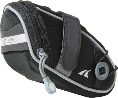 Detours Wedgie Seat Bag - Medium Black - Detours Other Sports Bags