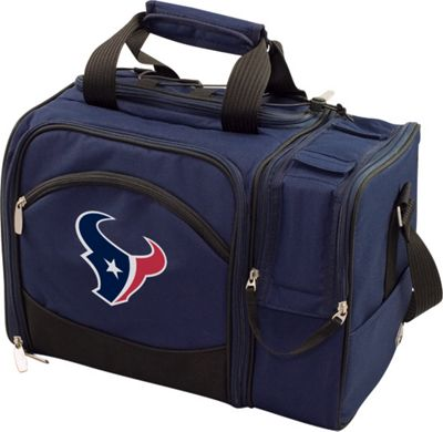 Picnic Time Houston Texans Malibu Insulated Picnic Pack Houston Texans Navy - Picnic Time Outdoor Coolers