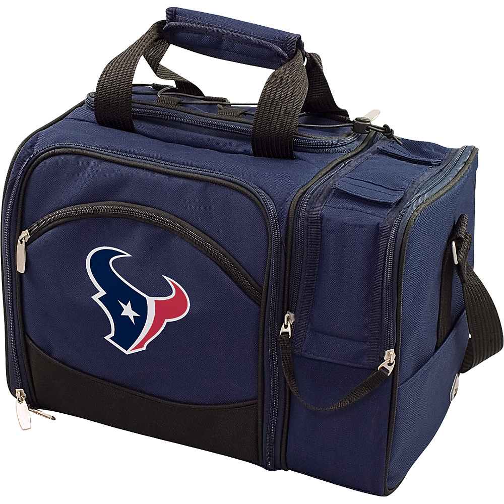 Picnic Time Houston Texans Malibu Insulated Picnic Pack Houston Texans Navy - Picnic Time Outdoor Coolers - Outdoor, Outdoor Coolers