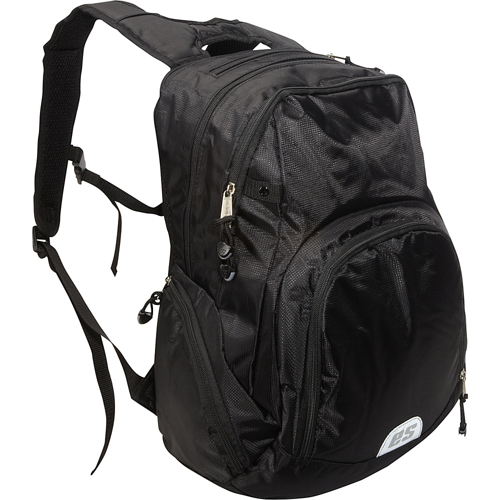 Eastsport Backpack with Electronic and Cooler Pockets Black - Eastsport Business & Laptop Backpacks