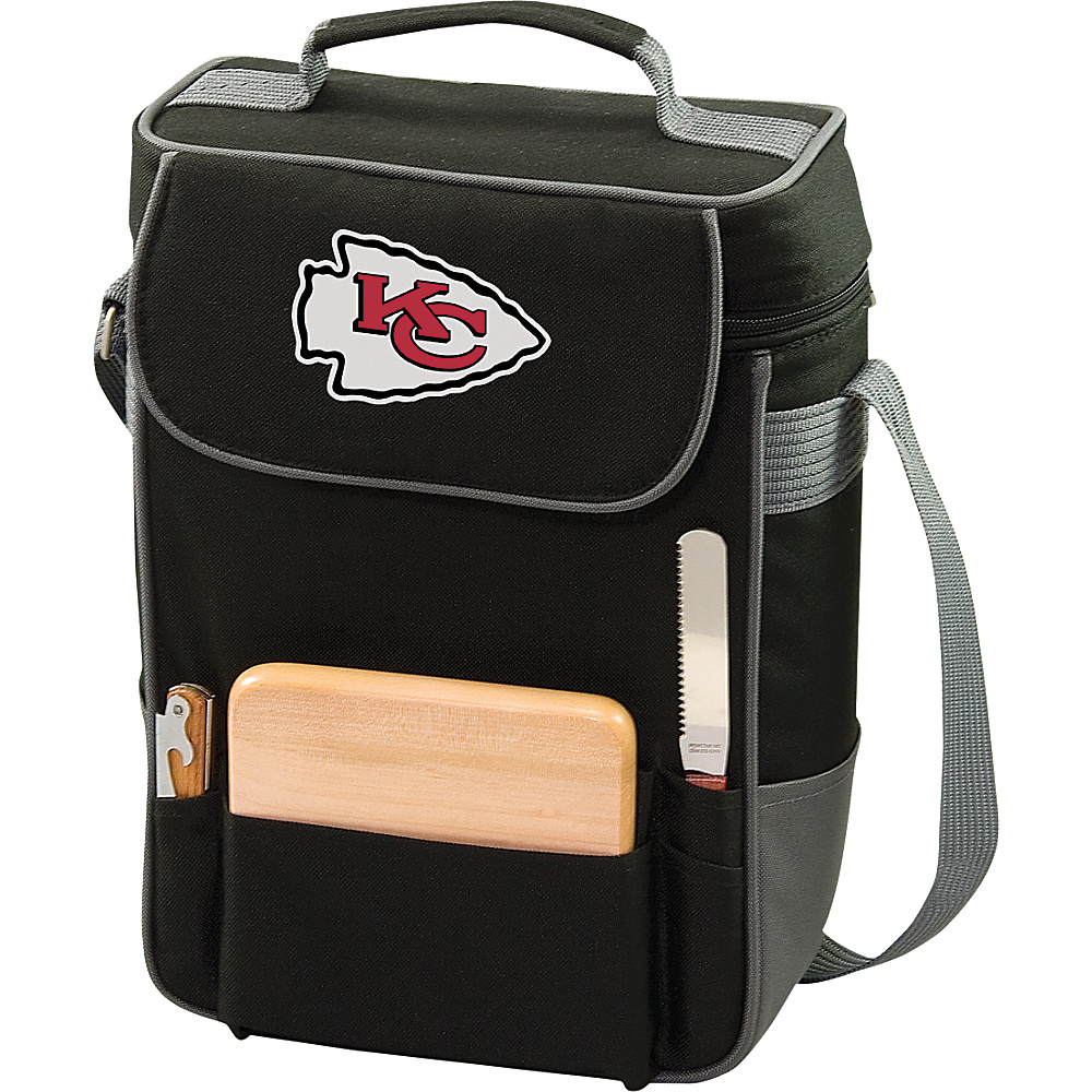 Picnic Time Kansas City Chiefs Duet Wine & Cheese Tote Kansas City Chiefs - Picnic Time Outdoor Coolers - Outdoor, Outdoor Coolers