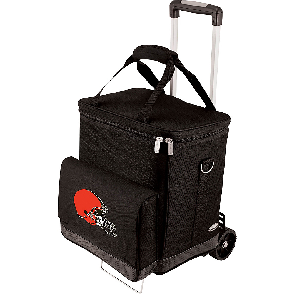 Picnic Time Cleveland Browns Cellar w/Trolley Cleveland Browns - Picnic Time Outdoor Coolers - Outdoor, Outdoor Coolers