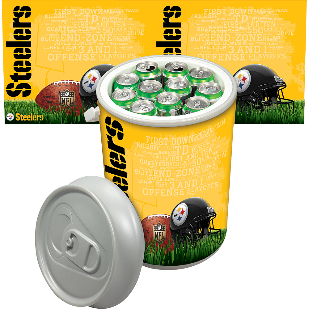 Picnic Time Pittsburgh Steelers Mega Can Cooler Pittsburgh Steelers - Picnic Time Outdoor Coolers - Outdoor, Outdoor Coolers