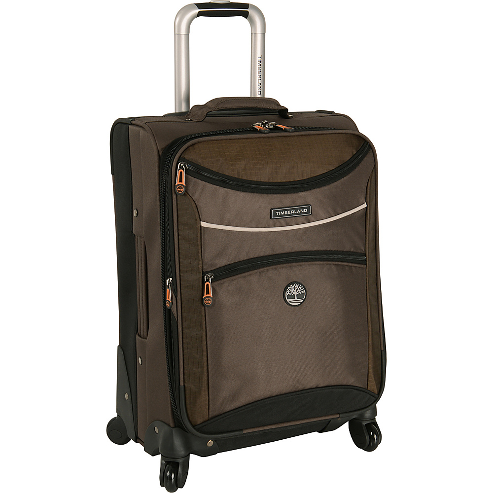 Timberland Rt 4 20 Spinner Carry on Cocoa Timberland Softside Carry On