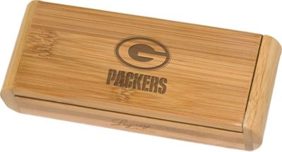 Picnic Time Picnic Time Green Bay Packers Elan Bamboo Corkscrew Green Bay Packers - Picnic Time Outdoor Accessories