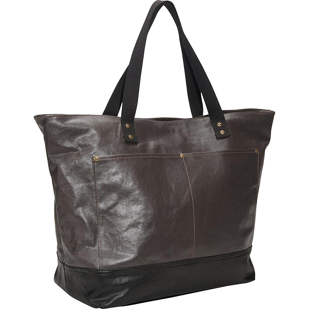 Ducti Utility Tote Brown - Ducti Manmade Handbags