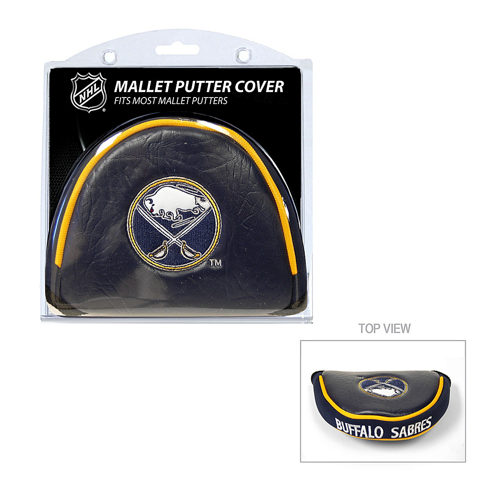 Team Golf USA Buffalo Sabres Mallet Putter Cover Team Color - Team Golf USA Golf Bags