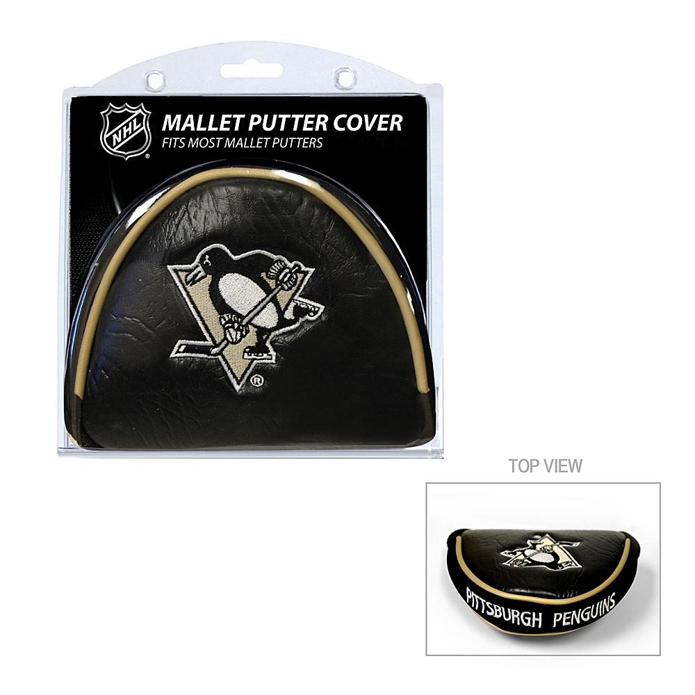 Team Golf USA Pittsburgh Penguins Mallet Putter Cover Team Color - Team Golf USA Golf Bags