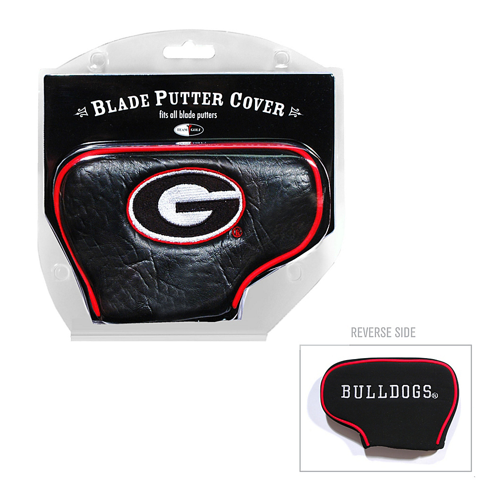 Team Golf USA University of Georgia Bulldogs Blade Putter Cover Team Color - Team Golf USA Golf Bags