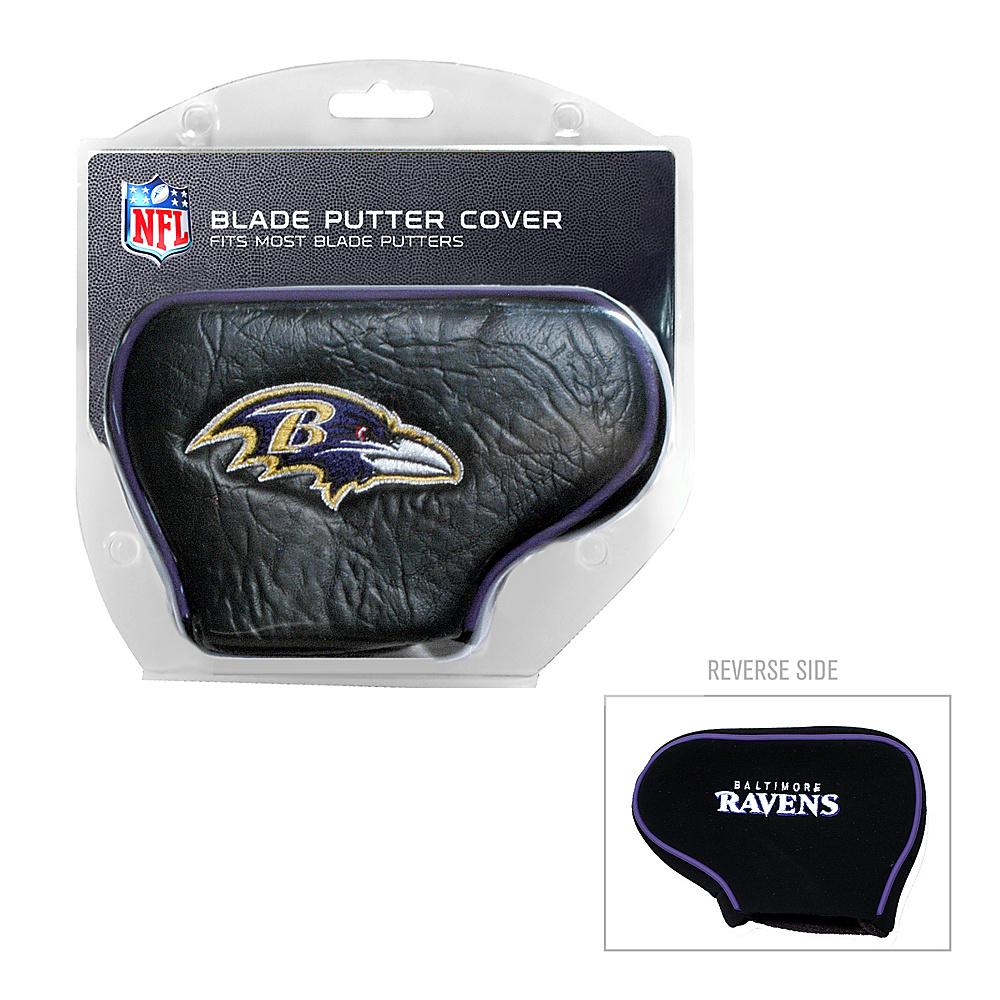 Team Golf USA Baltimore Ravens Blade Putter Cover Team Color - Team Golf USA Golf Bags
