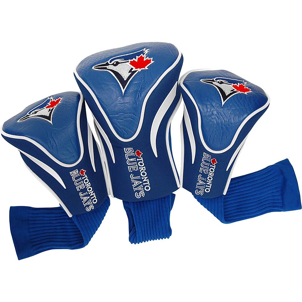 Team Golf USA Toronto Blue Jays 3 Pk Contour Head Cover Team Color - Team Golf USA Golf Bags
