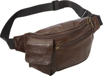 Amerileather Leather Waist Pouch w/ Cellphone Holder Waxy...